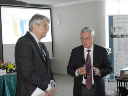 Operaţii în direct, prezentări şi noutăţi medicale la Conferinţa Internaţională de Uroginecologie, organizată de dr. Gheorghe Bumbu în Oradea şi Băile Felix (FOTO)