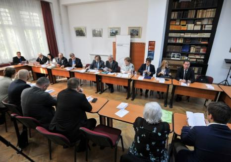 Consiliul Autonomiei Maghiare din Bazinul Carpatic s-a reunit la Oradea (FOTO)