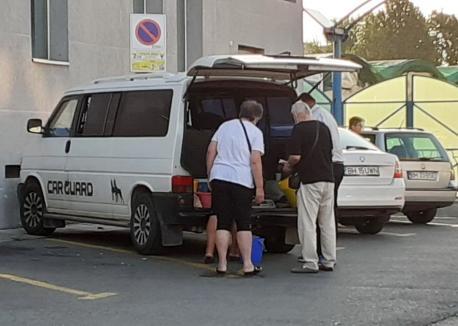 Poliţia Locală Oradea a confiscat două tone de pepeni. Erau vânduţi în locuri neautorizate (FOTO)