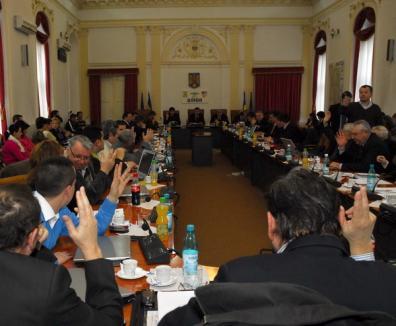 Şedinţă în viteză la Consiliul Judeţean