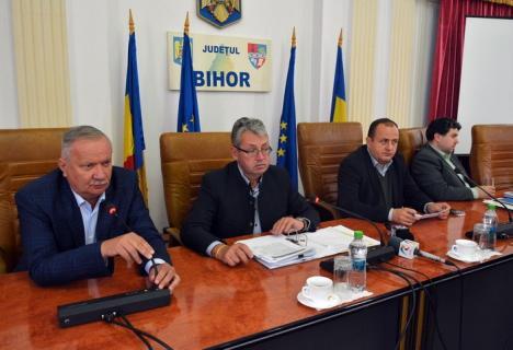Şefii CJ Bihor cedează: Amână validarea noului consilier PSD şi cer aprobarea noilor salarii