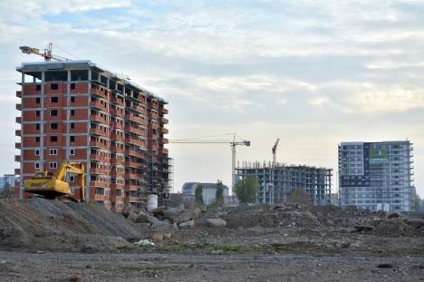 Paradoxul Oradea: Spre deosebite de trendul naţional, în Oradea se construiesc peste 2.000 de apartamente (FOTO)