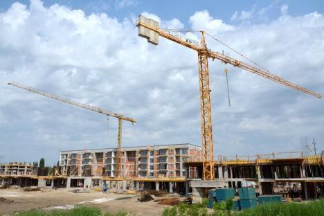 Creşte Oradea! În oraş se construiesc peste 1.600 de apartamente în același timp