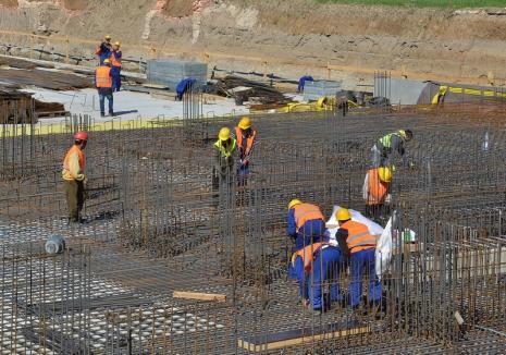 Bihorul 'surprinde' în industria construcţiilor: 800 de şantiere în judeţ şi investiţii de 5 miliarde de lei
