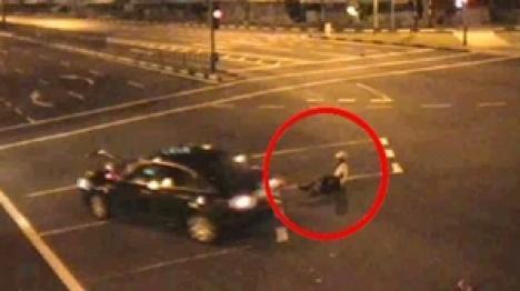 Imagini şocante de la accidentul mortal provocat de maşina fostului consul Silviu Ionescu (VIDEO)