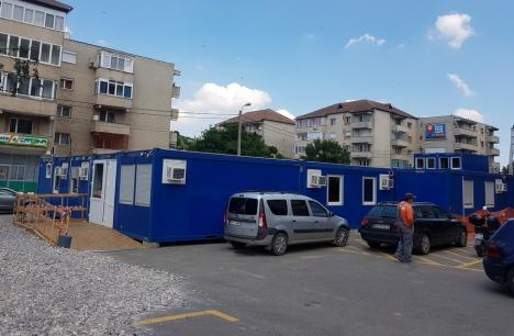 Urgențele se mută miercuri în containerele din faţa Spitalului Judeţean din Oradea. Vezi cum arată! (FOTO)