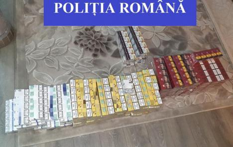 Prinşi în flagrant cu ţigări de contrabandă, doi soţi din Oradea au interdicţie de a se apropia de pieţe. Ce ascunzătoare foloseau (FOTO)