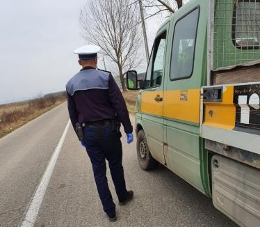 Una la 4 minute! 720 de sancţiuni aplicate de poliţiștii din Bihor în doar două zile (FOTO)