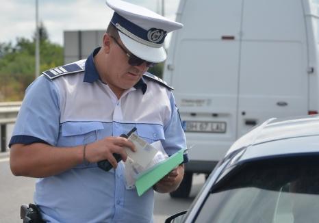 Şofer cu ghinion: Un salontan a fost prins în trei rânduri cu permisul suspendat la volan