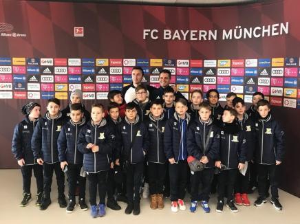Turneu reușit şi vizite de neuitat în Germania și Austria pentru micii fotbaliști de la LPS Bihorul (FOTO)