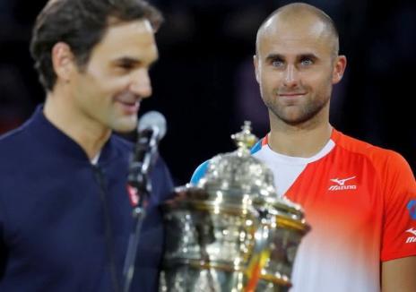 Bihoreanul Marius Copil a pierdut finala împotriva lui Roger Federer