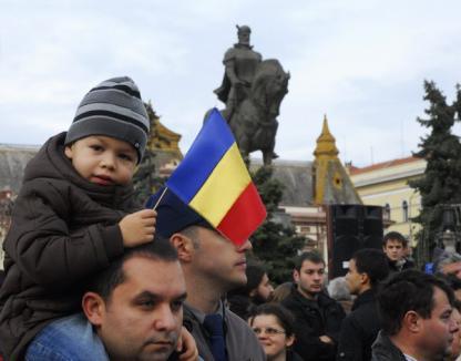 Oradea a sărbătorit Ziua Naţională (FOTO)