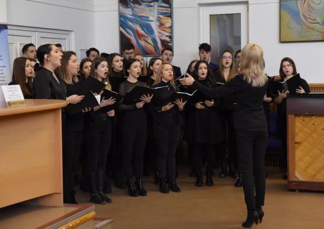 Concert pascal, în Vinerea Mare: Orădenii, invitaţi să-i asculte pe studenţii de la Muzică
