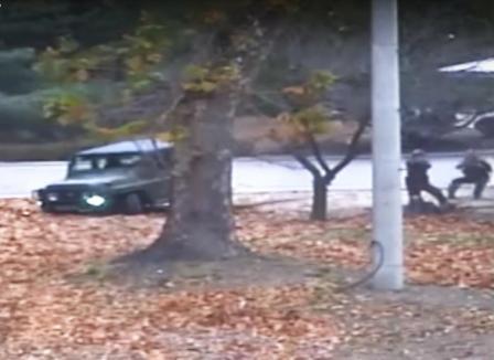 Militar nord-coreean împuşcat în timp ce încerca să evadeze în Coreea de Sud (VIDEO)