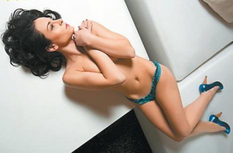Argint în topul celor mai sexy gimnaste, pentru Corina Ungureanu