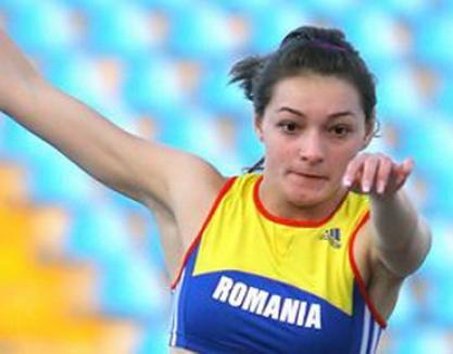 Atleta Cornelia Deiac, în grafic pentru Europenele de la Paris