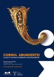 """""""Cornul abundenței"""": La Muzeul oraşului se deschide o expoziție cu obiecte de lux din secolul XVII descoperite într-o criptă din Transilvania"""