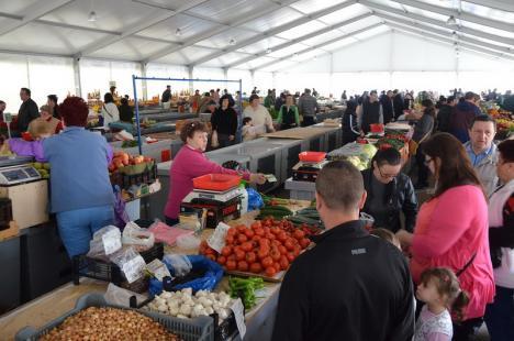 Piaţa Cetate din Oradea nu se închide! Comercianţii se vor muta în cort