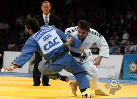 Jandarmul-judoka Costel Dănculea a câştigat medalia de bronz la Cupa Mondială din Varşovia
