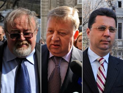 Costiniu, Căşuneanu şi Locic, arestaţi 29 de zile