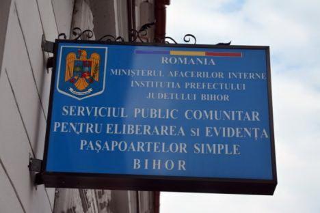 Prefectura Bihor anunţă schimbarea modului de programare la Serviciul de Paşapoarte