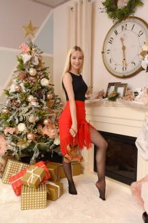 Crăciuniţa de 10! BIHOREANUL vă dăruiește povestea adolescentei Ilinca Lianu, care, la doar 16 ani, a fost deja admisă cu nota maximă, la UBB! (FOTO / VIDEO)