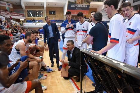 Baschet: CSM CSU Oradea joacă la Bucureşti cu Dinamo
