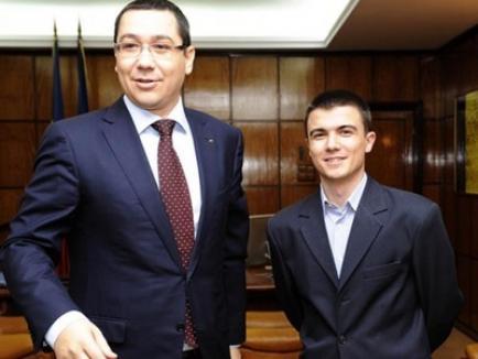 Surpriza lui Ponta: Cristian Botan, un tânăr care a lansat un site de recrutare în administraţie, cooptat în echipa Guvernului