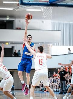 CSM CSU Oradea şi-a adus un tânăr jucător: Christian Chiţu, de 18 ani
