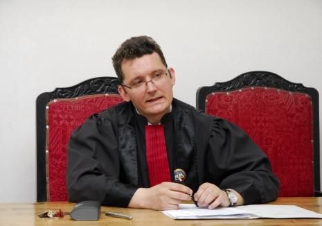 Judecătorul Cristian Monenci este noul președinte al Tribunalului Bihor