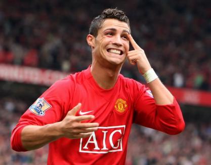 Cristiano Ronaldo, cel mai frumos gol al anului 2009