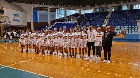 Campioanele din Oradea: Adolescentele de la Crişul BC U Oradea au câştigat titlul naţional la baschet feminin U14 (FOTO)
