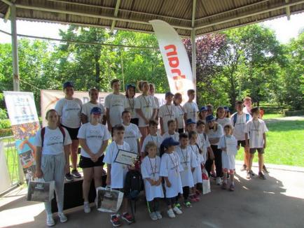 Peste 200 de copii au luat startul la crosul Cupa 1 Iunie şi Olimpic Day (FOTO)