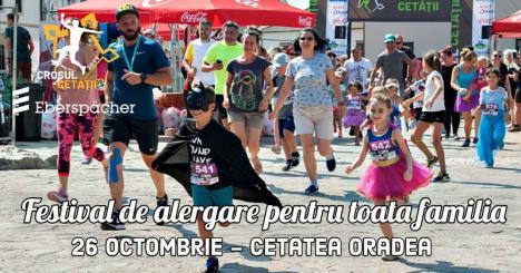 Superman, la mișcare! Iubitorii sportului sunt invitaţi la un festival de alergare pentru toată familia, în Cetatea Oradea