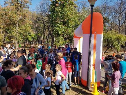 Aproape 450 de participanţi la Crosul 'Ziua oraşului Oradea' 2018 (FOTO)