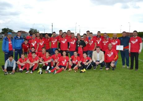 După campionat, CSC Sânmartin a câștigat și Cupa României în Bihor!