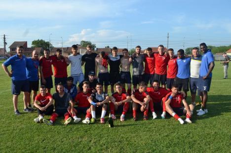 CSC Sânmartin a promovat în Liga a III-a, după o nouă victorie cu 2-0! (FOTO)