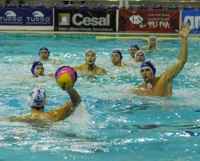 Poloiştii de la CSM Digi evoluează la Bucureşti, cu Dinamo