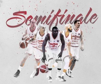 Baschetbaliştii sunt în semifinale! CSM CSU Oradea a câştigat seria cu BCM U Piteşti din play-off-ul Ligii Naţionale