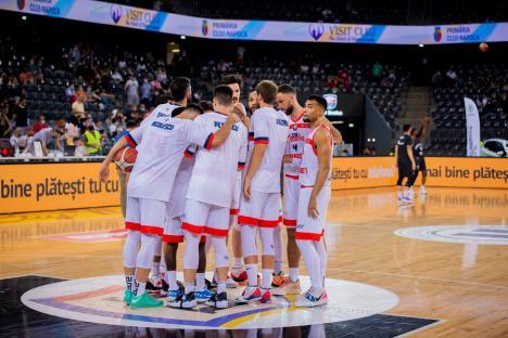 CSM CSU Oradea îşi află joi adversarii din grupele FIBA Europe Cup