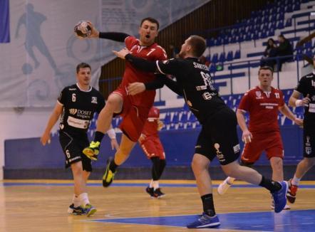 Handbaliștii de la CSM Oradea s-au impus în debutul returului și s-au distanțat în fruntea clasamentului