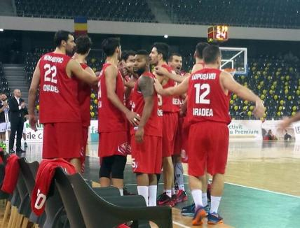 Baschetbaliştii orădeni au cedat jocul de la Cluj cu scorul de 62-75 şi a căzut în clasament pe locul trei