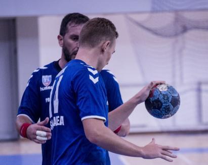 CSM Oradea vizează joi cea de-a patra victorie din noua ediţie a Diviziei A la handbal masculin