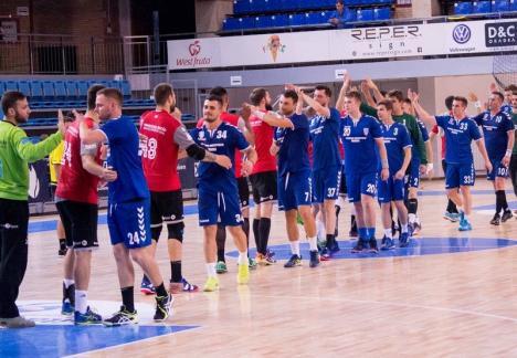 CSM Oradea a suferit, la Sibiu, prima înfrângere din noua ediţie de campionat