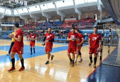 Handbal: CSM Oradea evoluează duminică la Timişoara, cu CSU Politehnica