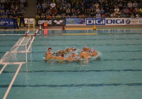 CSM Digi a pierdut cu 1-7 finala Cupei României la polo!