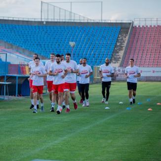Baschetbaliştii de la CSM CSU Oradea au început pregătirile pentru noul sezon (FOTO)