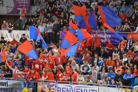 Prima înfrângere din 2016: Baschetbaliştii de la CSM CSU Oradea au pierdut jocul cu Steaua, în prelungiri (FOTO/VIDEO)