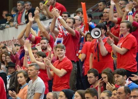 S-au pus în vânzare biletele pentru meciurile finalei CSM Oradea - CSU Asesoft Ploieşti