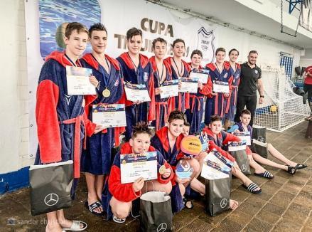Tinerii poloişti de la CSM Oradea au câştigat Cupa Triumf de la Bucureşti